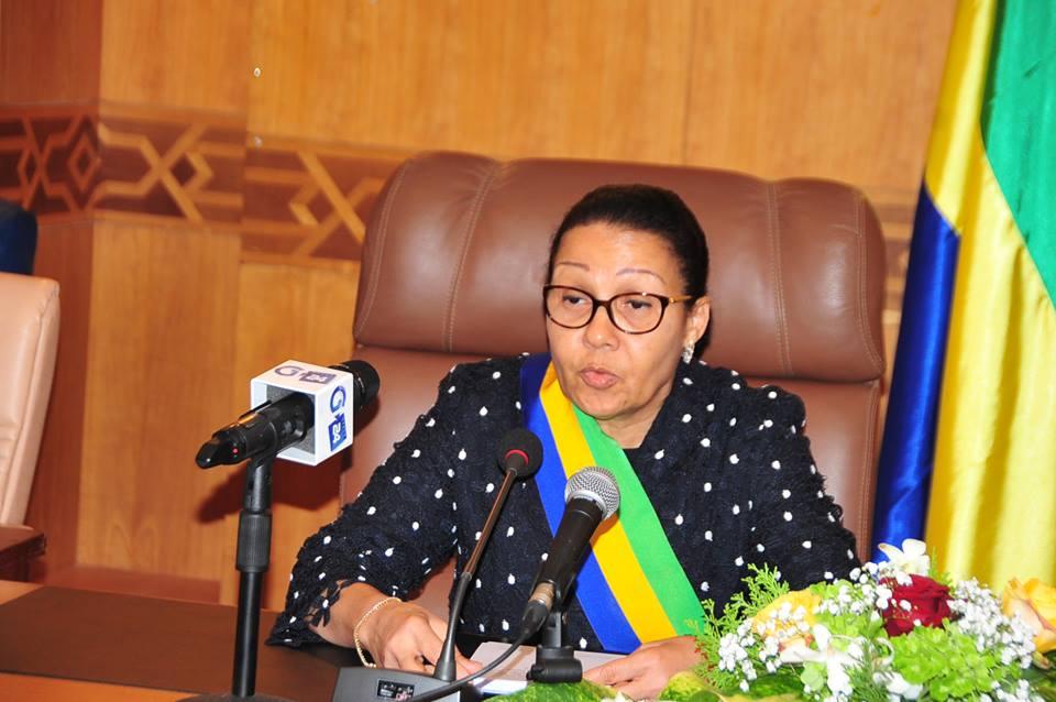 Le Secrétaire Général Félicite le Président du Sénat Gabonais