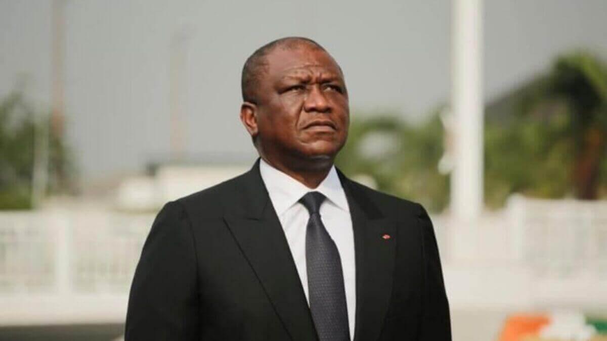 Le Secrétaire Général Présente Ses Condoléances au Président du Parlement Ivoirien