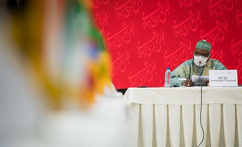 خطاب الأمين العام للاتحاد امام الاجتماع الاستثنائي الرابع للجنة فلسطين الدائمة