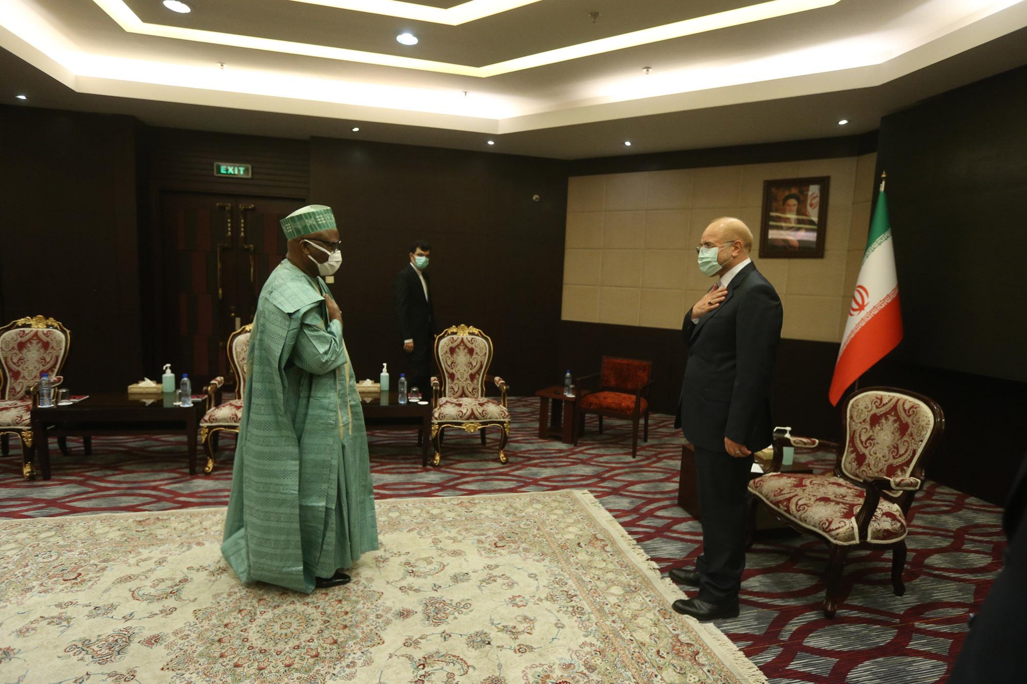PUIC Secretary General Meets Mr. Ghalibaf