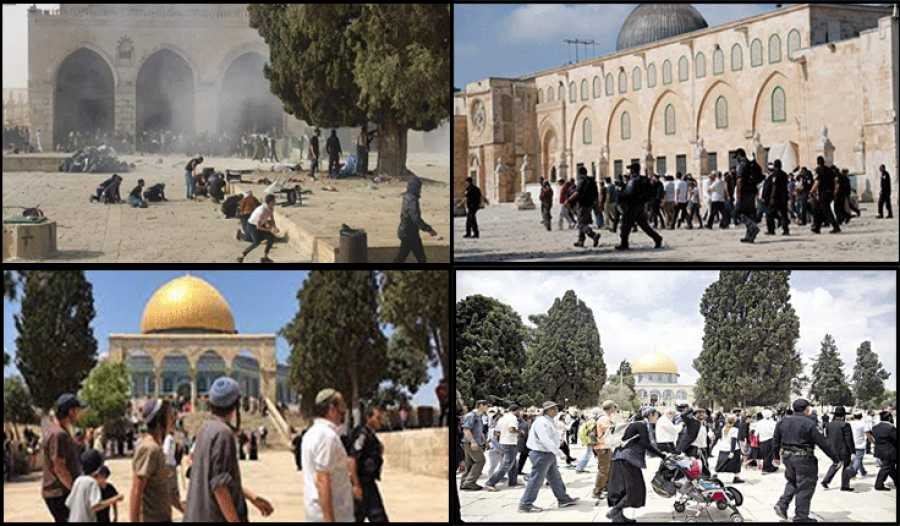 """المجلس الوطني الفلسطيني: تحويل الاحتلال باحات الأقصى إلى ساحة حرب """"جريمة مكتملة الأركان"""" محملا الاحتلال المسؤولية"""