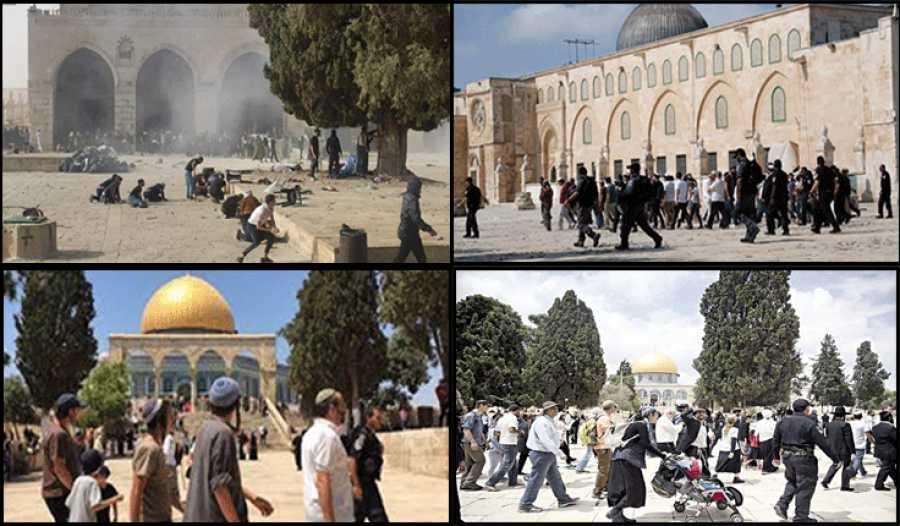 Le CNP : Modifier le Statu Quo de l'Enceinte de la Mosquée d