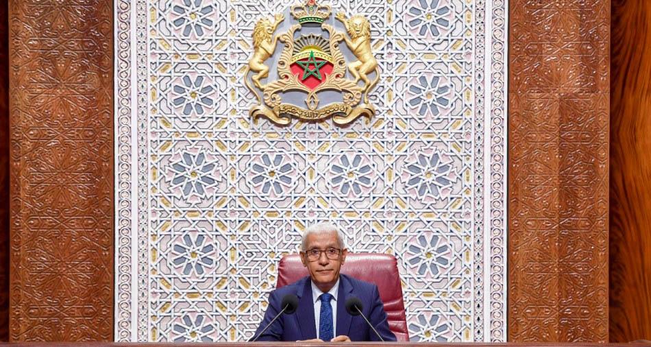 Le Secrétaire Général Félicite M. Talbi Alami