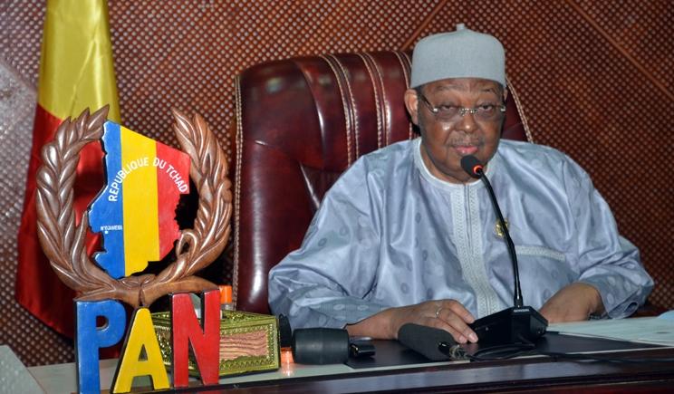 Le Secrétaire Général Félicite le Président du Parlement Tchadien