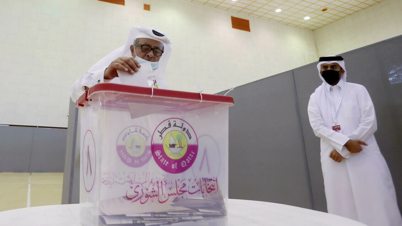 نجاح الانتخابات التشريعية الاولى من نوعها فى دولة قطر