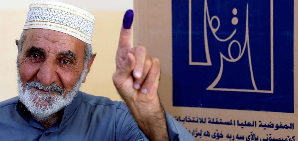 الانتخابات التشريعية فى العراق جرت فى ظروف هادئة